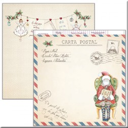Papel Scrap Dayka Carta Postal