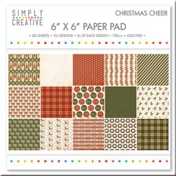 Papeles Scrapbooking Christmas Cheer (15x15)