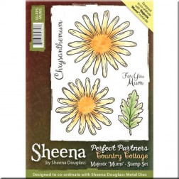 Sellos Majestic Mums - Sheena Douglass