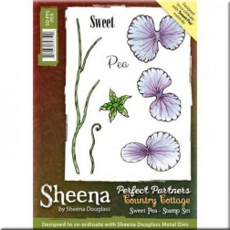 Sellos Sweet Pea Sheena Douglass