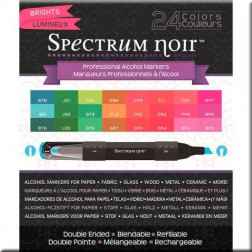 Set 24 Rotuladores Spectrum Noir - Brillantes