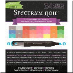 Set 24 Rotuladores Spectrum Noir - Luminosos