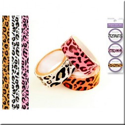 Set 3 Washi Tape - Leopardo Colores