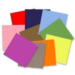 Pack 10 Cartulinas de colores (30x30cm)