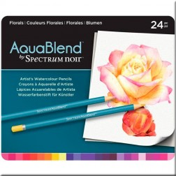Set 24 Lápices AquaBlend Spectrum Noir Florals