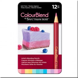 Set 12 Lápices ColourBlend Spectrum Noir Tintes Suaves