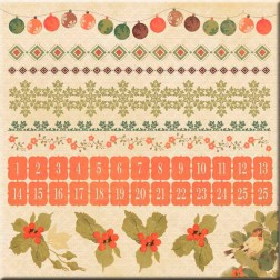 Adhesivos - Merry & Bright Collecction  (30 x 30)