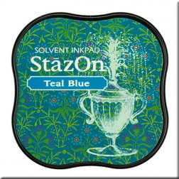 Tintas Stazon Midi - Teal Blue