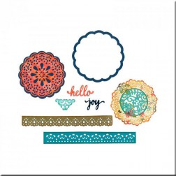 Troqueles Thinlits Hello Doily