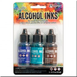 Set de Tintas Alcohol Ink Mariner