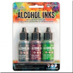 Set de Tintas Alcohol Ink Cottage Path