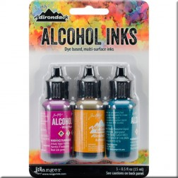 Set de Tintas Alcohol Ink Nature Walk