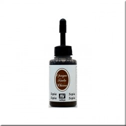 Tinta china Sepia (23 ml.)