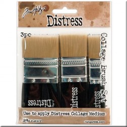 Set de 3 Pinceles Tim Holtz (Collage Brush set)