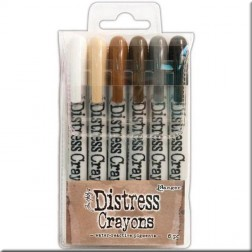 Ceras Distress Crayons Set 3