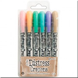 Ceras Distress Crayons Set 5