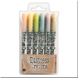 Ceras Distress Crayons Set 8