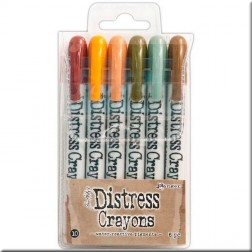 Ceras Distress Crayons Set 10