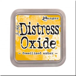 Tinta Distress Oxide - Fossilized Amber