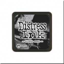 Tinta Distress Ink Mini - Black Soot