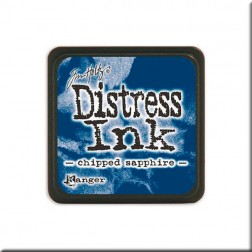 Tinta Distress Ink Mini - Chipped Sapphire