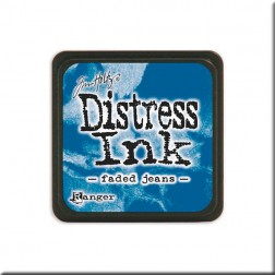 Tinta Distress Ink Mini - Faded Jeans