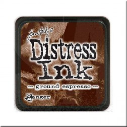 Tinta Distress Ink Mini - Ground Espresso