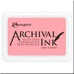Tinta Archival Ink - Rose Madder