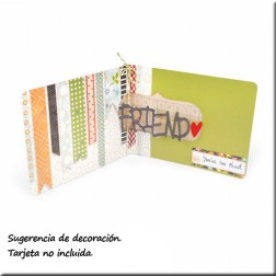 Troquel Pop´n Cuts - Insert - Friend 3D