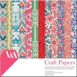 Papeles Scrapbooking V&A Collection (15x15)