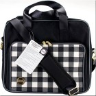Bolso Crafter's Shoulder Bag - Plaid Black - detalle