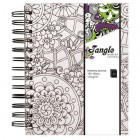 Cuaderno Memory Journal Tangle Flora (blanco)