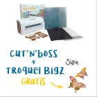 Kit Cut'n'Boss + Troquel Bigz Sizzix de REGALO